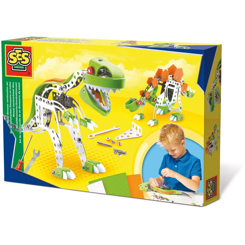 SES Metaal Constructieset Dino