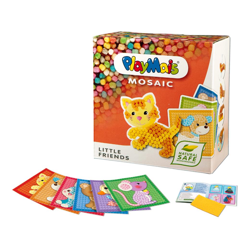 Afbeelding van Playmais Mosaic Mini Huisdieren 2300-Delig