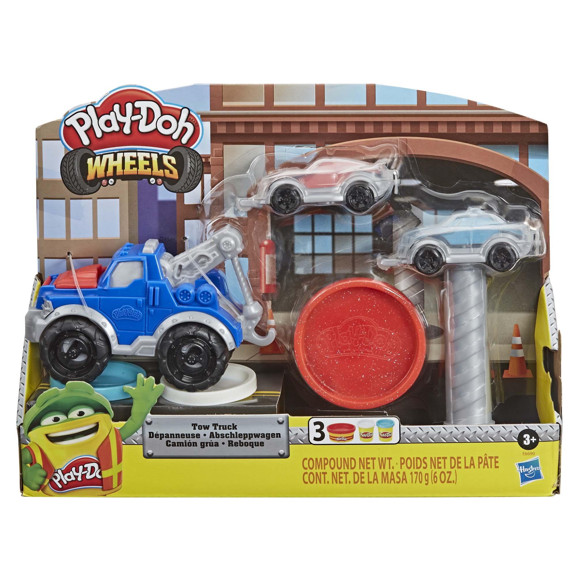 Afbeelding van Play Doh Wheels Takelwagen