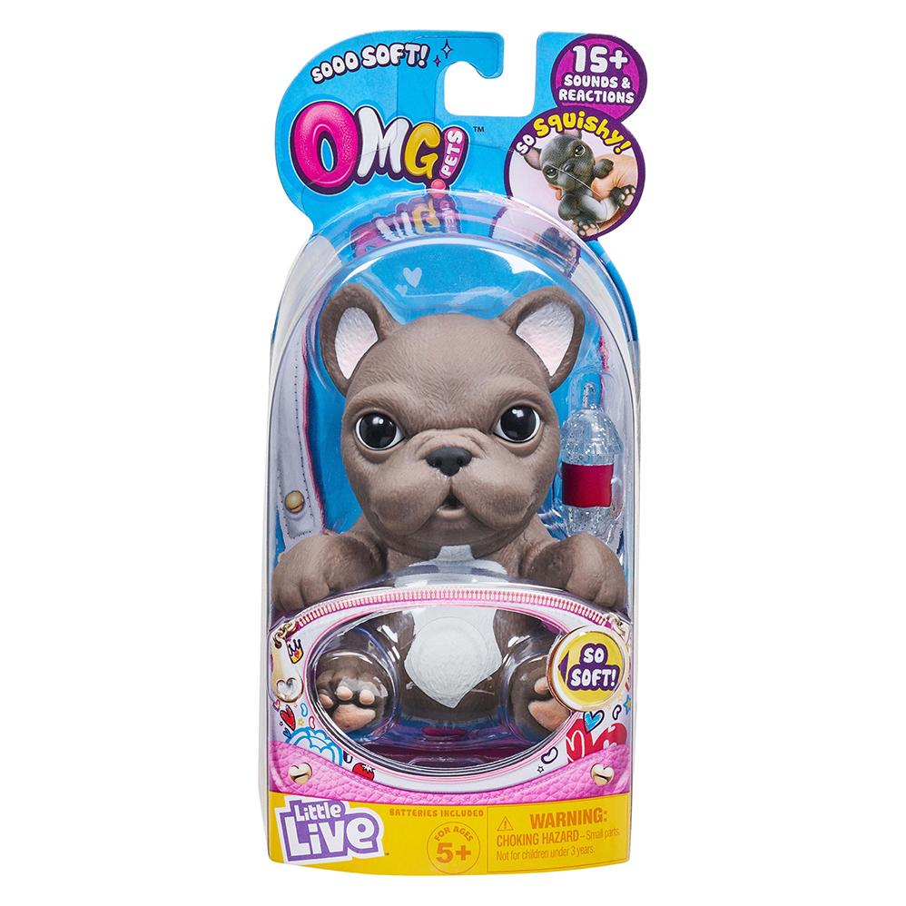 Afbeelding van Little Live OMG Pet French Bulittle Livedog