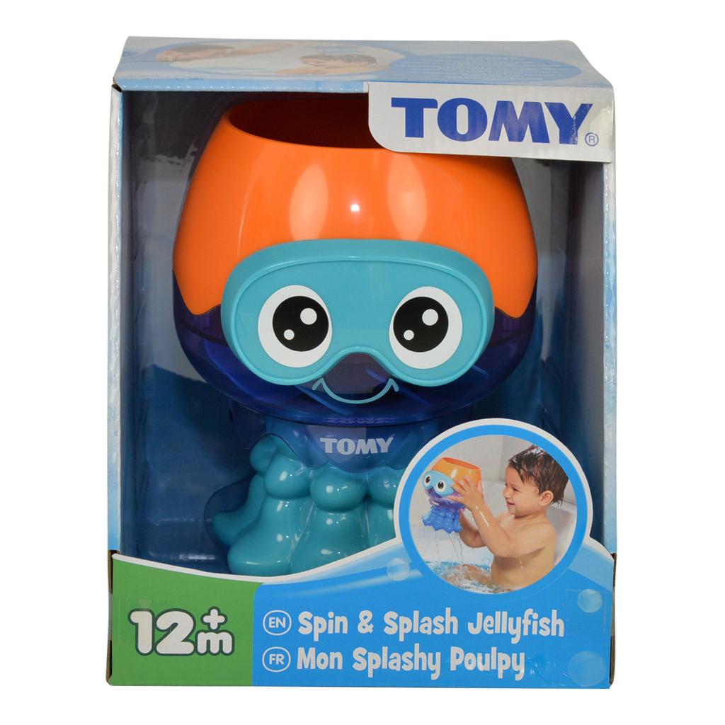 Afbeelding van Badspeelgoed Tomy Spin & Spuit Inktvis
