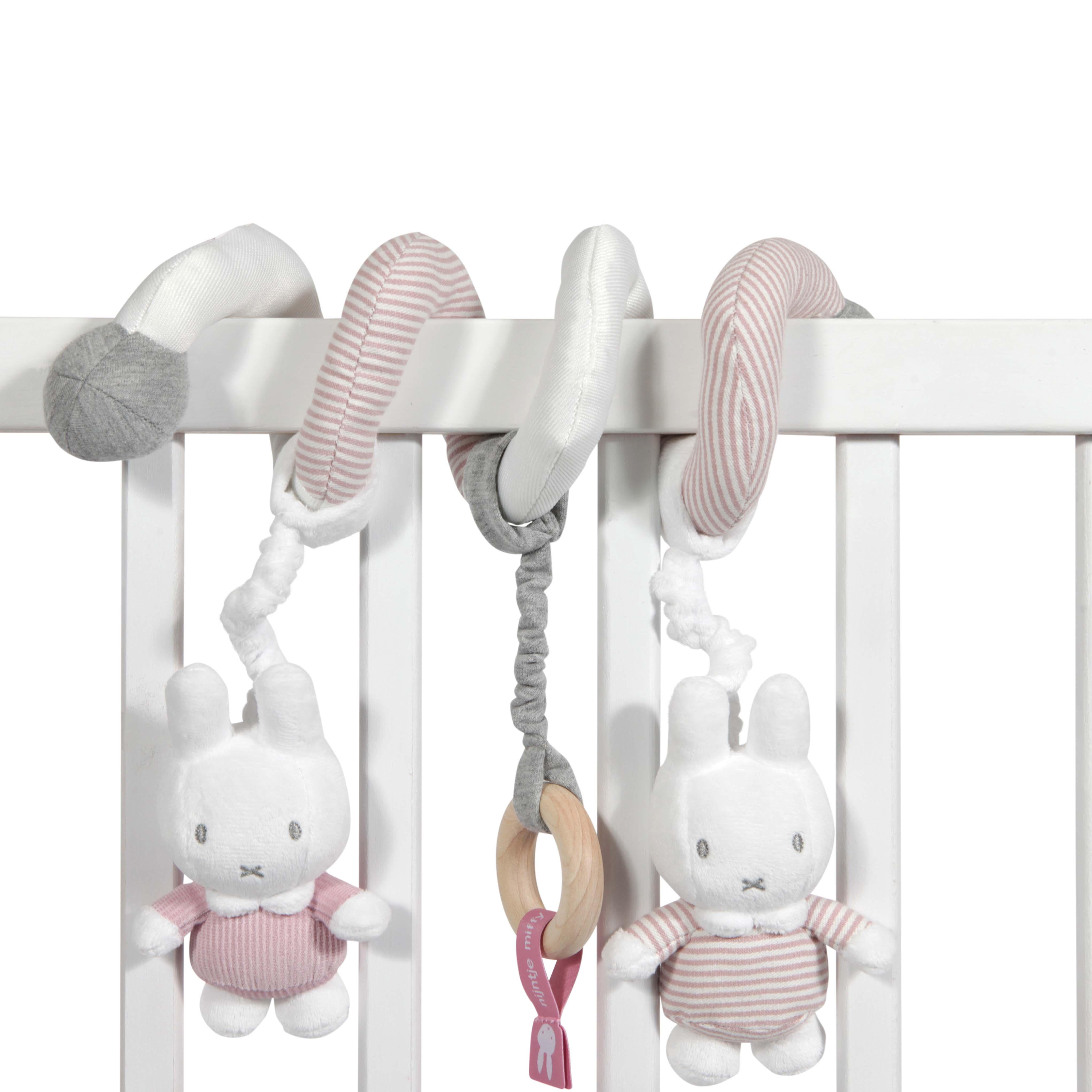 Afbeelding van Nijntje Boxspiraal Roze Babyrib