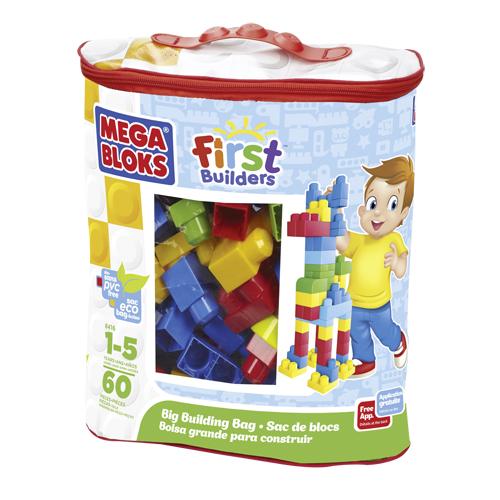 Afbeelding van Blokken Mega Bloks First Builders Classic 60 Stuks