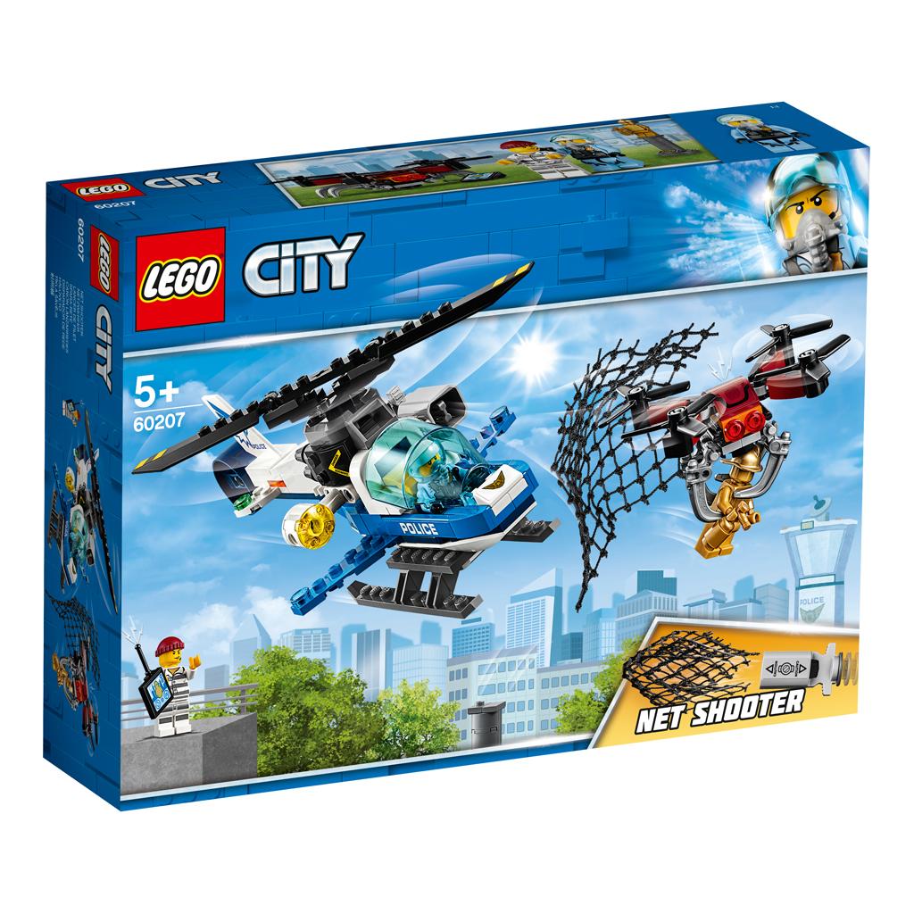 LEGO City 60207 Luchtpolitie Drone Achtervolging