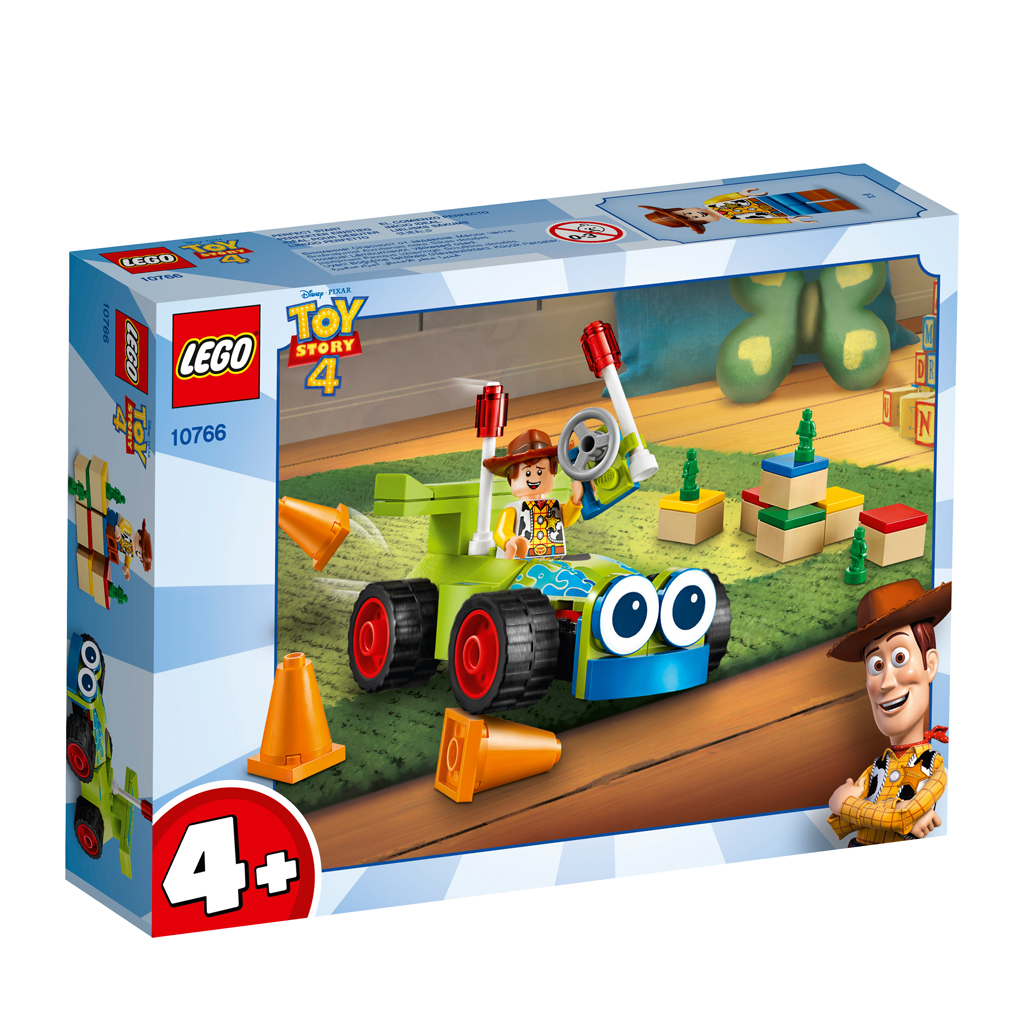 Afbeelding van LEGO 4+ 10766 Woody & RC
