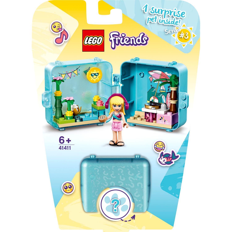 LEGO Friends 41411 Stephanie's Zomerspeelkubus