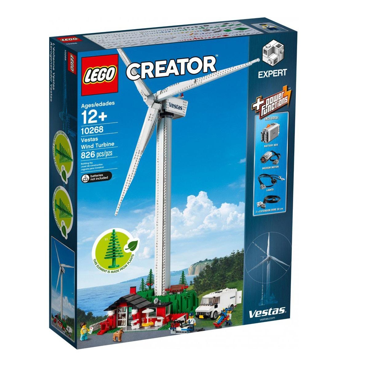 Afbeelding van LEGO 10268 Vestas Windmolen