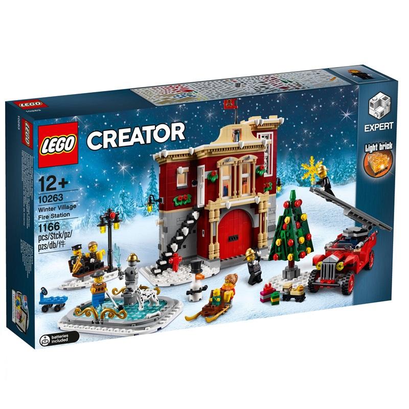Afbeelding van LEGO 10263 Brandweerkazerne In Winterdorp