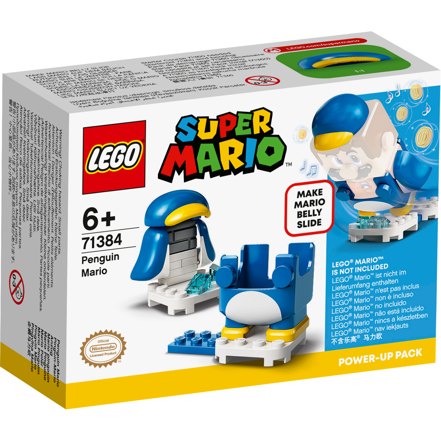 LEGO Super Mario 71384 Power Uppakket Pinguïn Mar