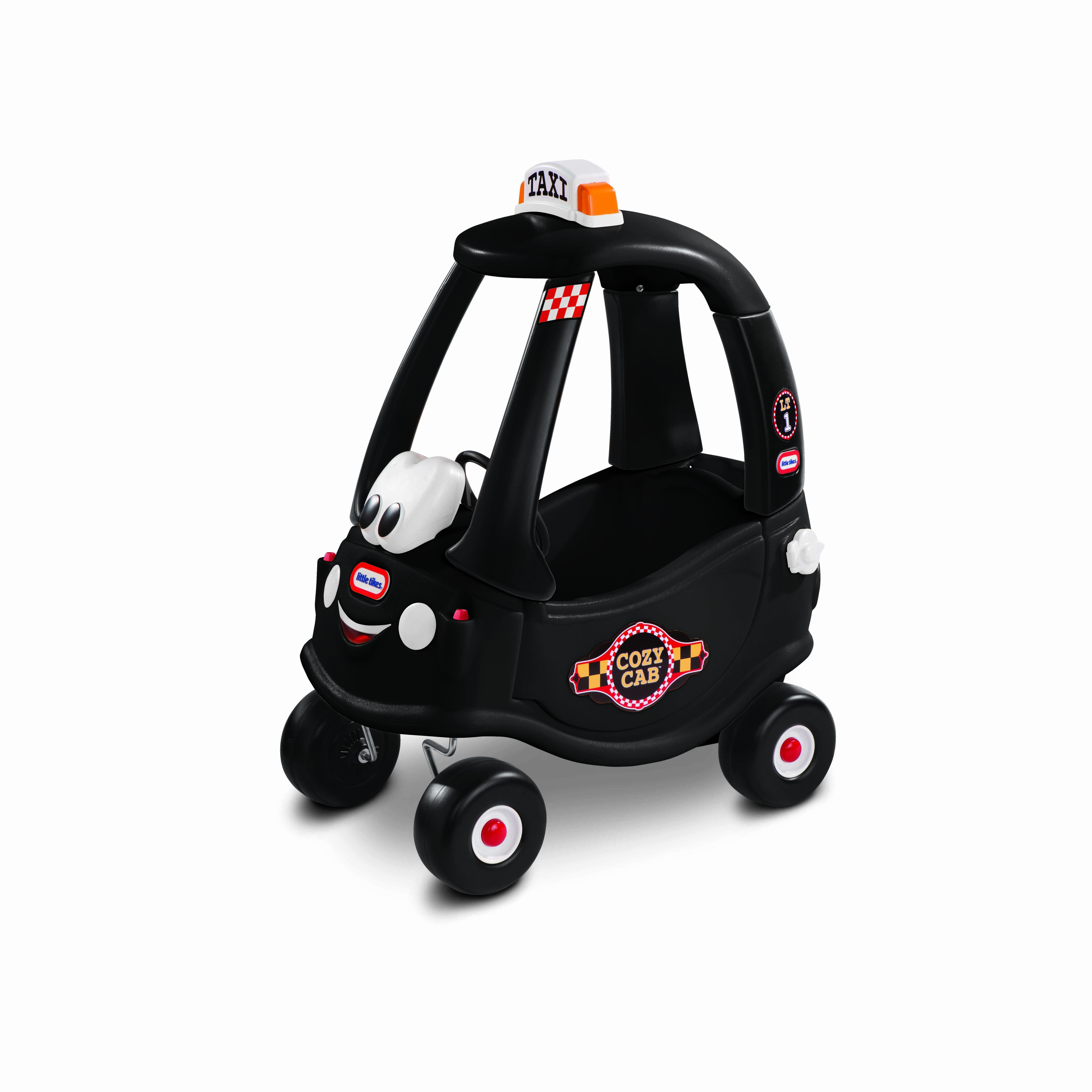 Afbeelding van Little Tikes Cozy Coupe Zwarte Taxi