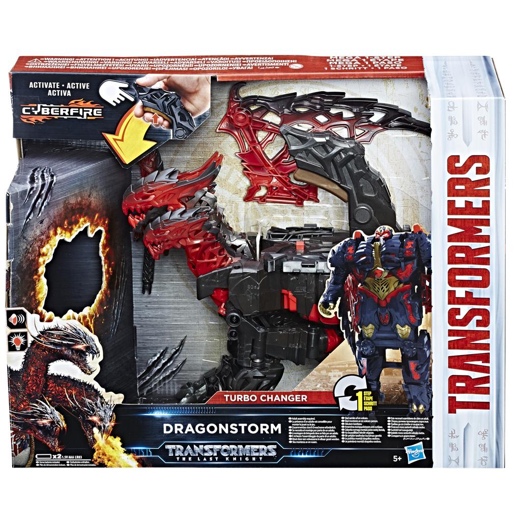 Afbeelding van Actiefiguur Transformers Movie 5 Mega 1 Step Turbo Changer