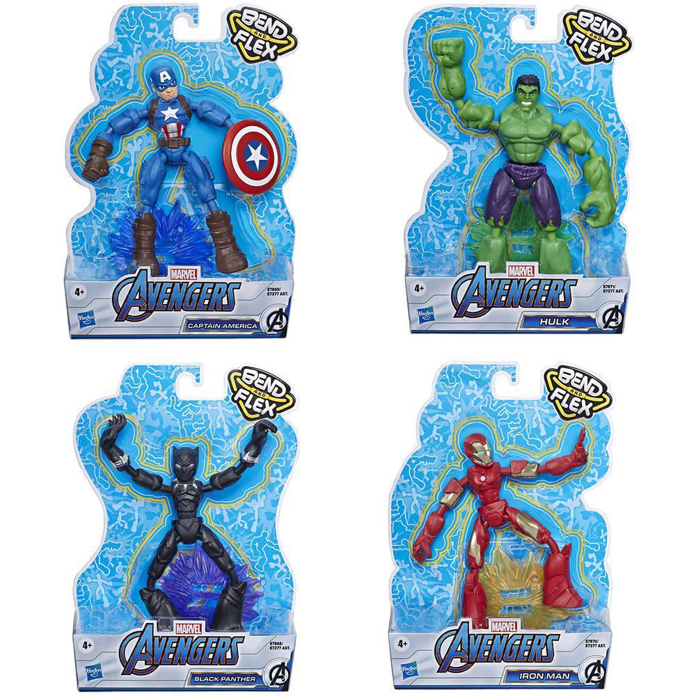 Afbeelding van Avengers Bend And Flex Assorti