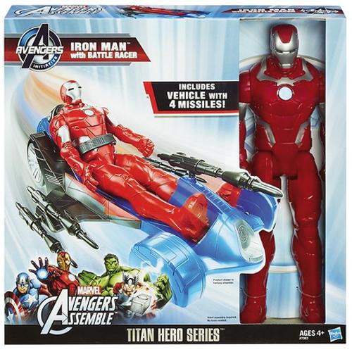Afbeelding van Actiefiguur Avengers Met Voertuig