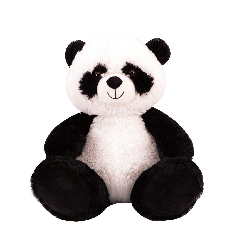 Puchiez Pluche Zittende Panda Knuffel 38 cm