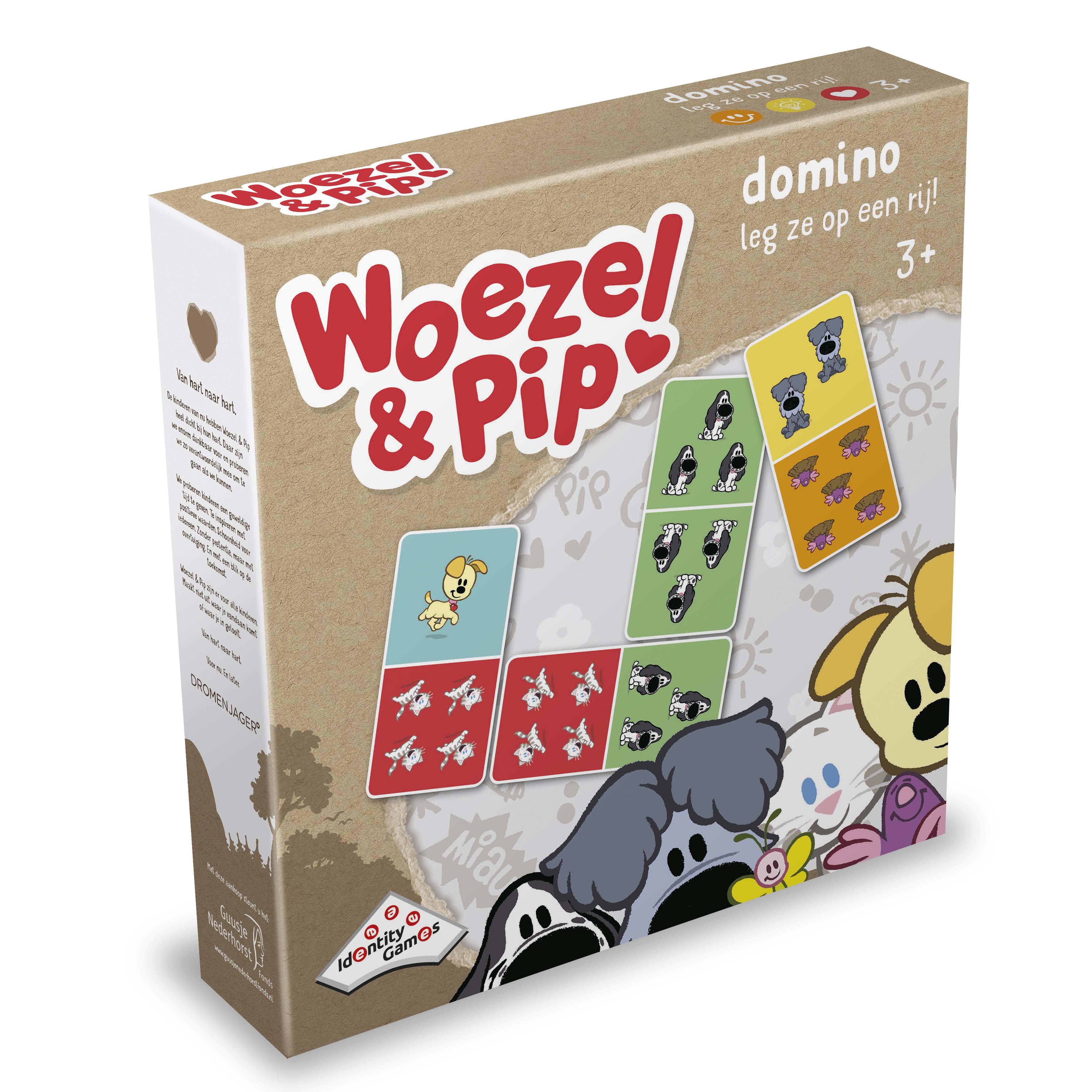 Afbeelding van Spel Woezel En Pip Domino