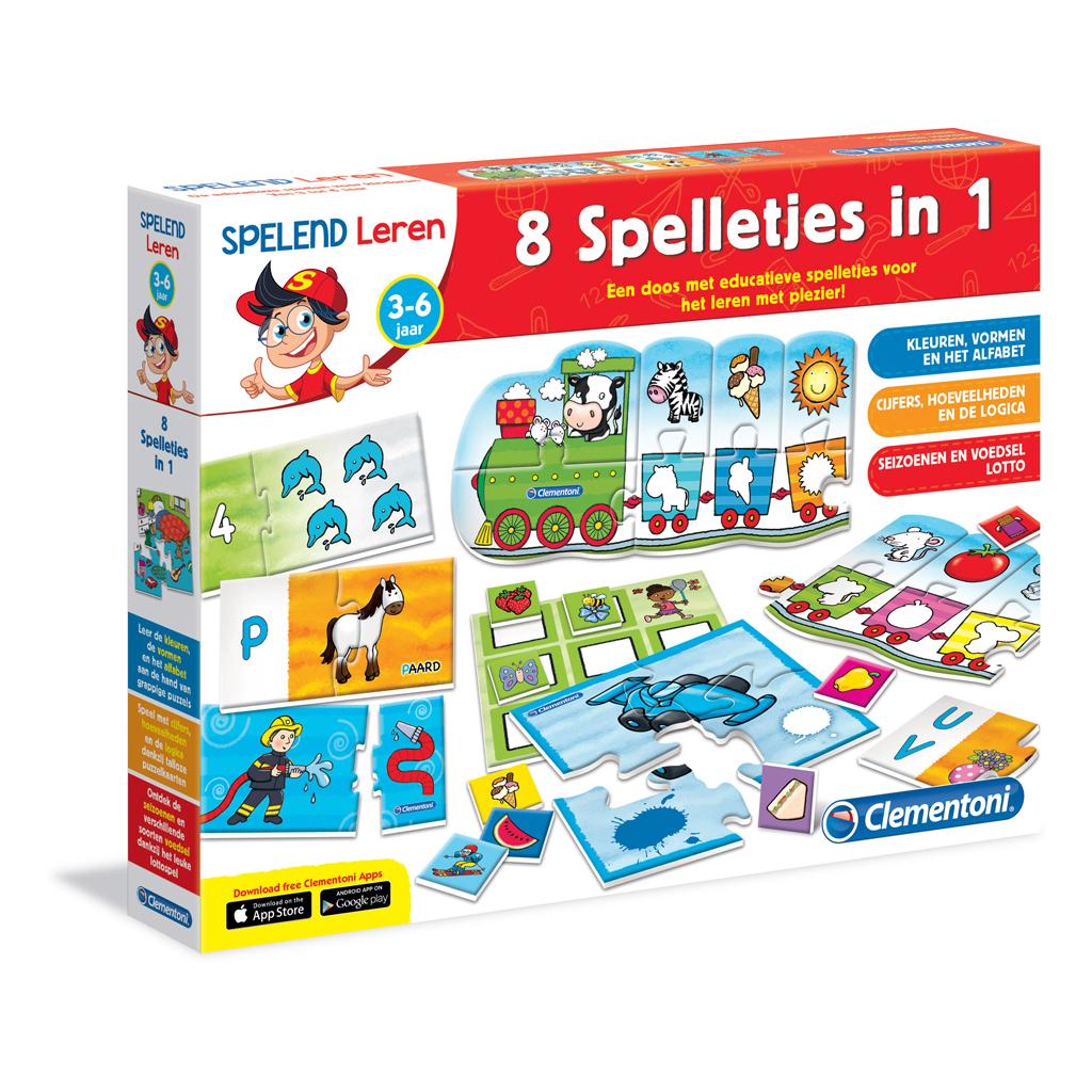 Spel 8 Spelletjes In 1 NL