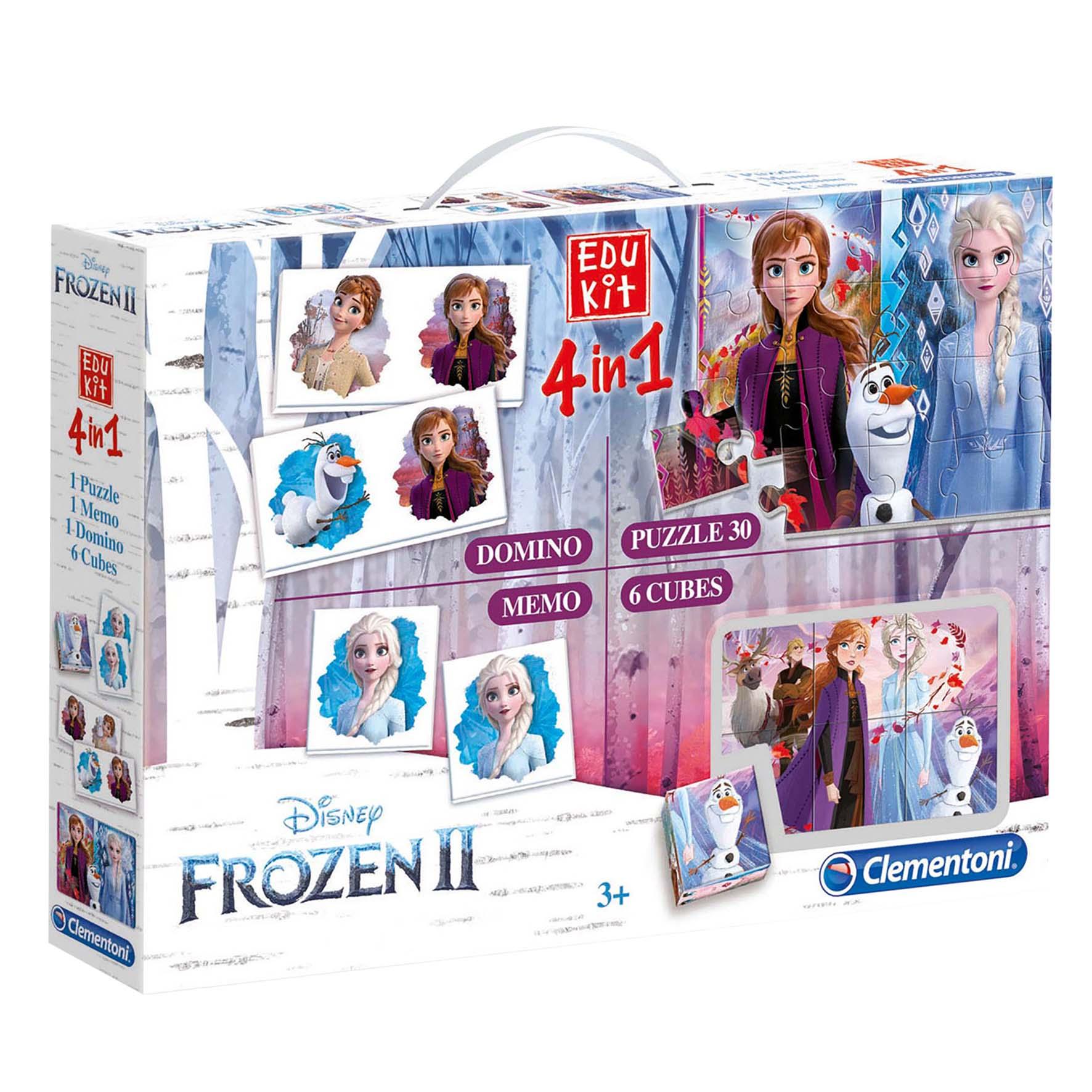 Spel Edukit 4 In 1 Frozen 2