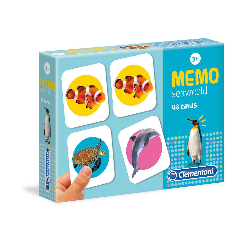 Spel Memo Seaworld
