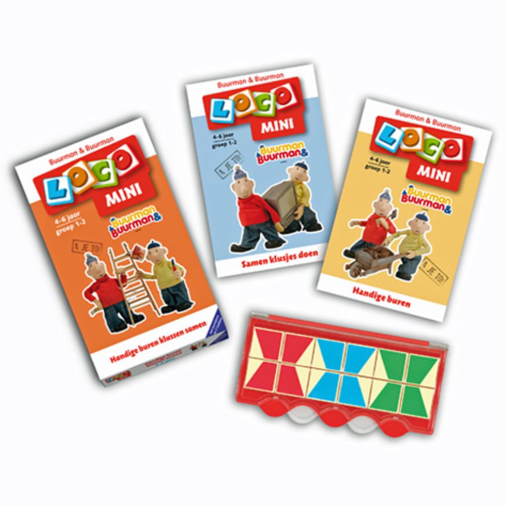 Afbeelding van Mini Loco Pakket Buurman&Buurman Basisdoos + 2 Boekjes