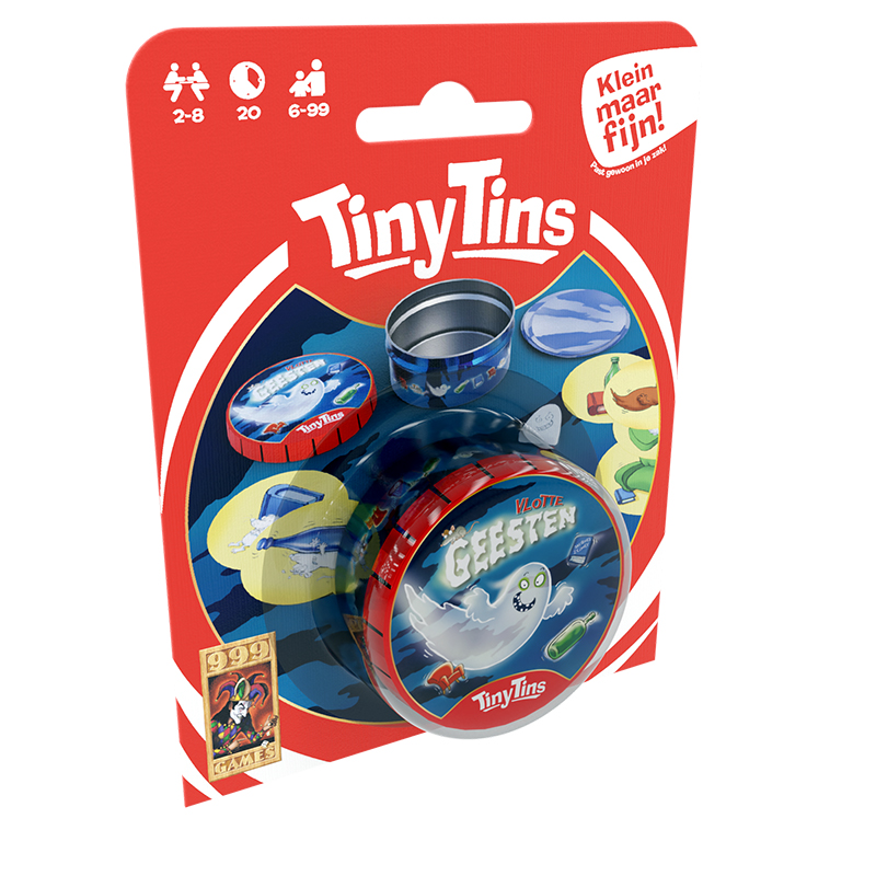 Spel Tiny Tins Vlotte Geesten