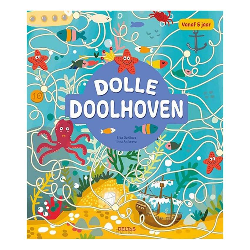Afbeelding van Boek Dolle Doolhoven