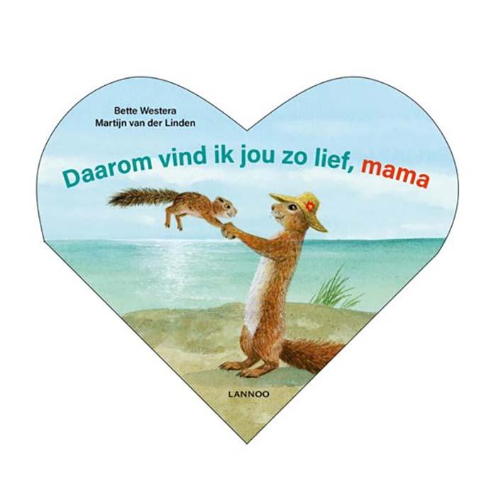 Afbeelding van Boek Daarom Vind Ik Jou Zo Lief Mama