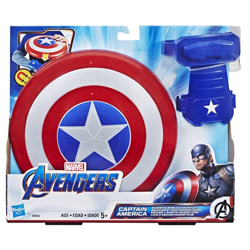 Afbeelding van Avengers Captain America Magnetisch Schild En Pantser Handschoen