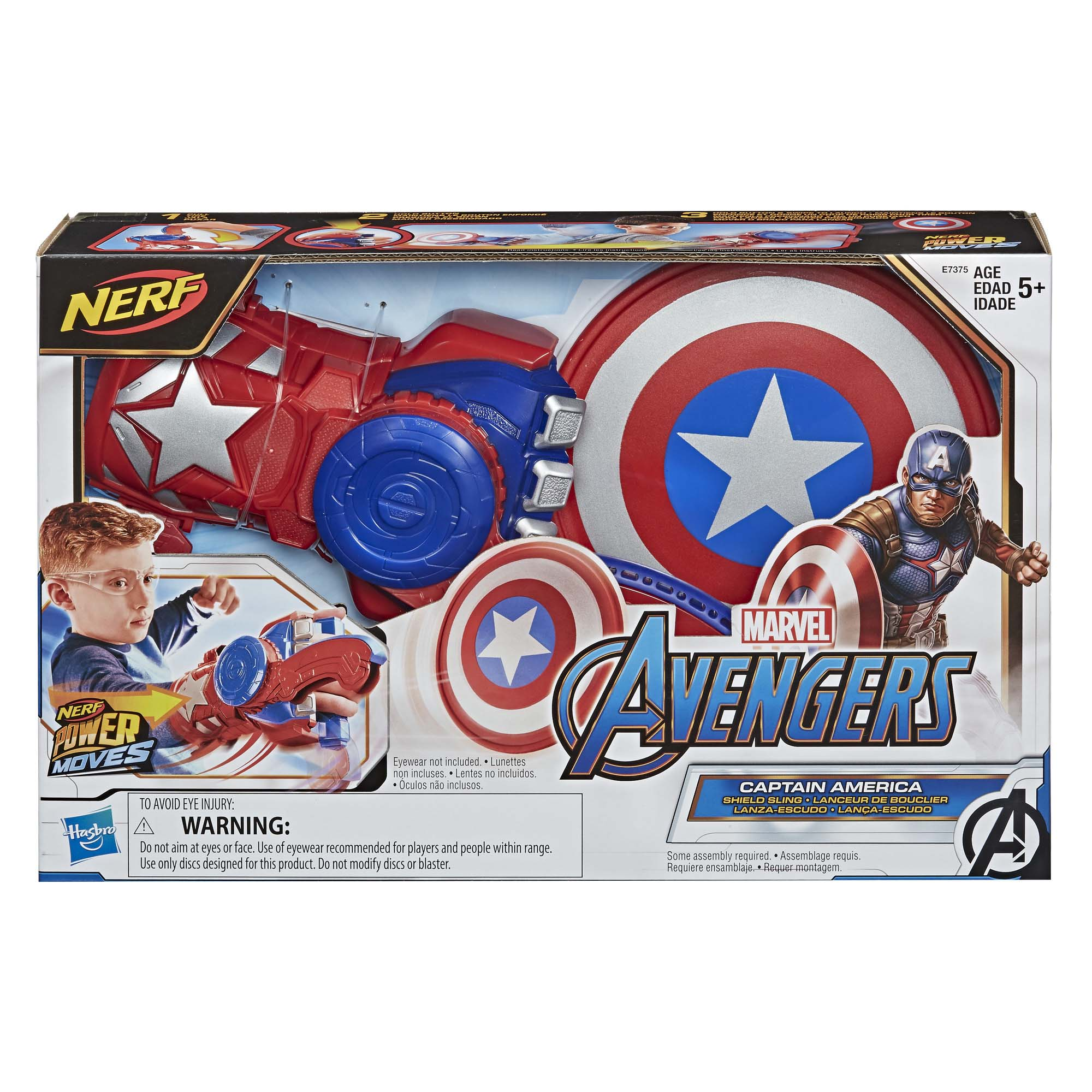 Afbeelding van Avengers Power Moves Role Play Captain America