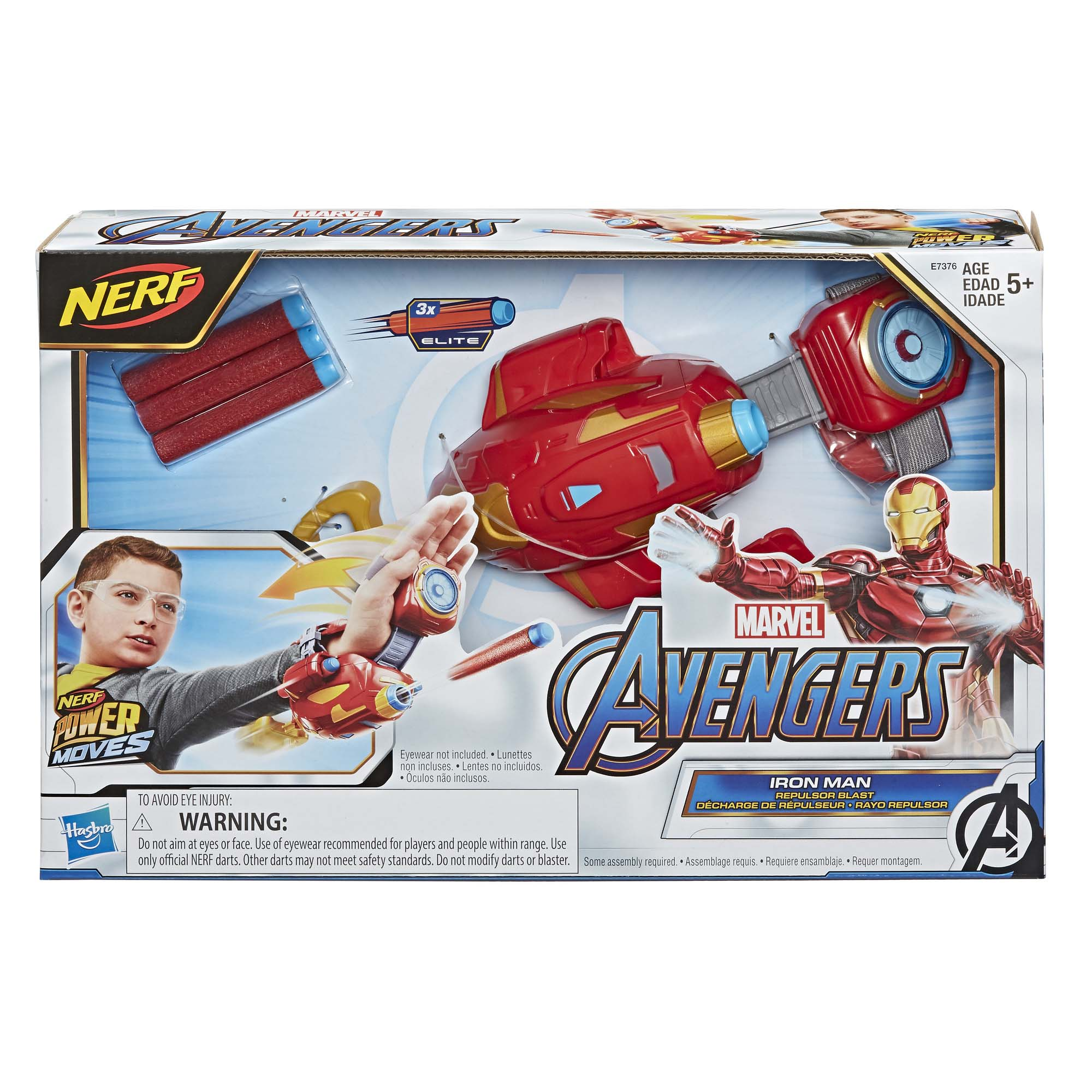 Afbeelding van Avengers Power Moves Role Play Iron Man