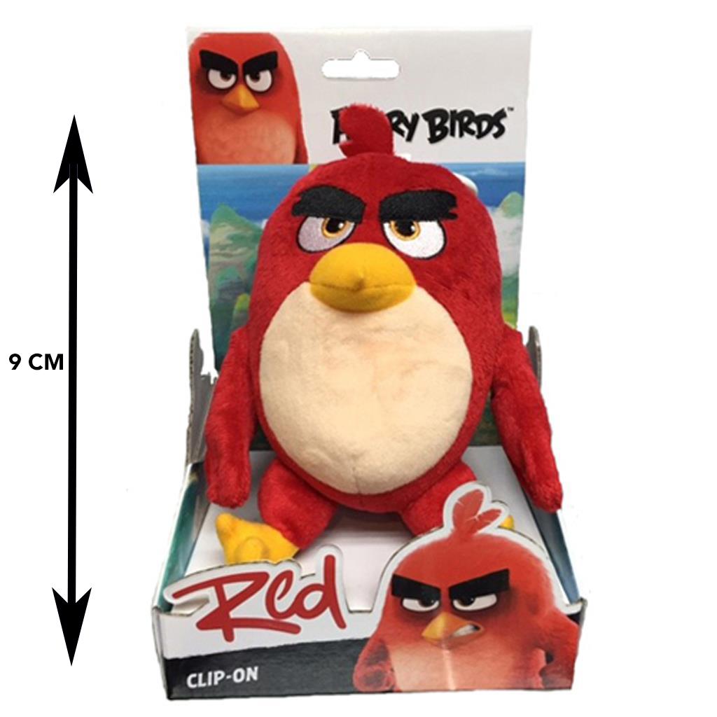 Afbeelding van Angry Birds Sleutelhanger Plush 9 Cm Assorti