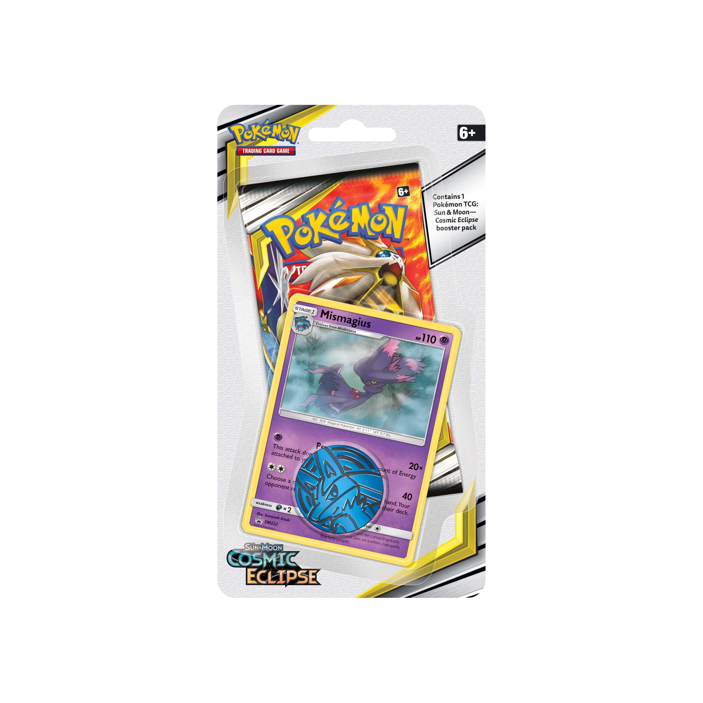 Afbeelding van Pokémon Sun en Moon Cosmic Eclipse Checklane Blist