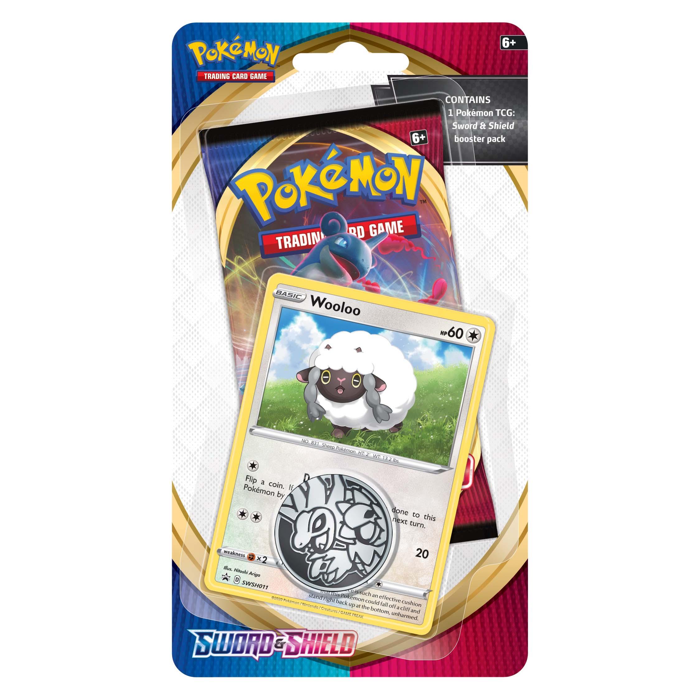 Afbeelding van Pokémon Sword & Shield Checklane Blister