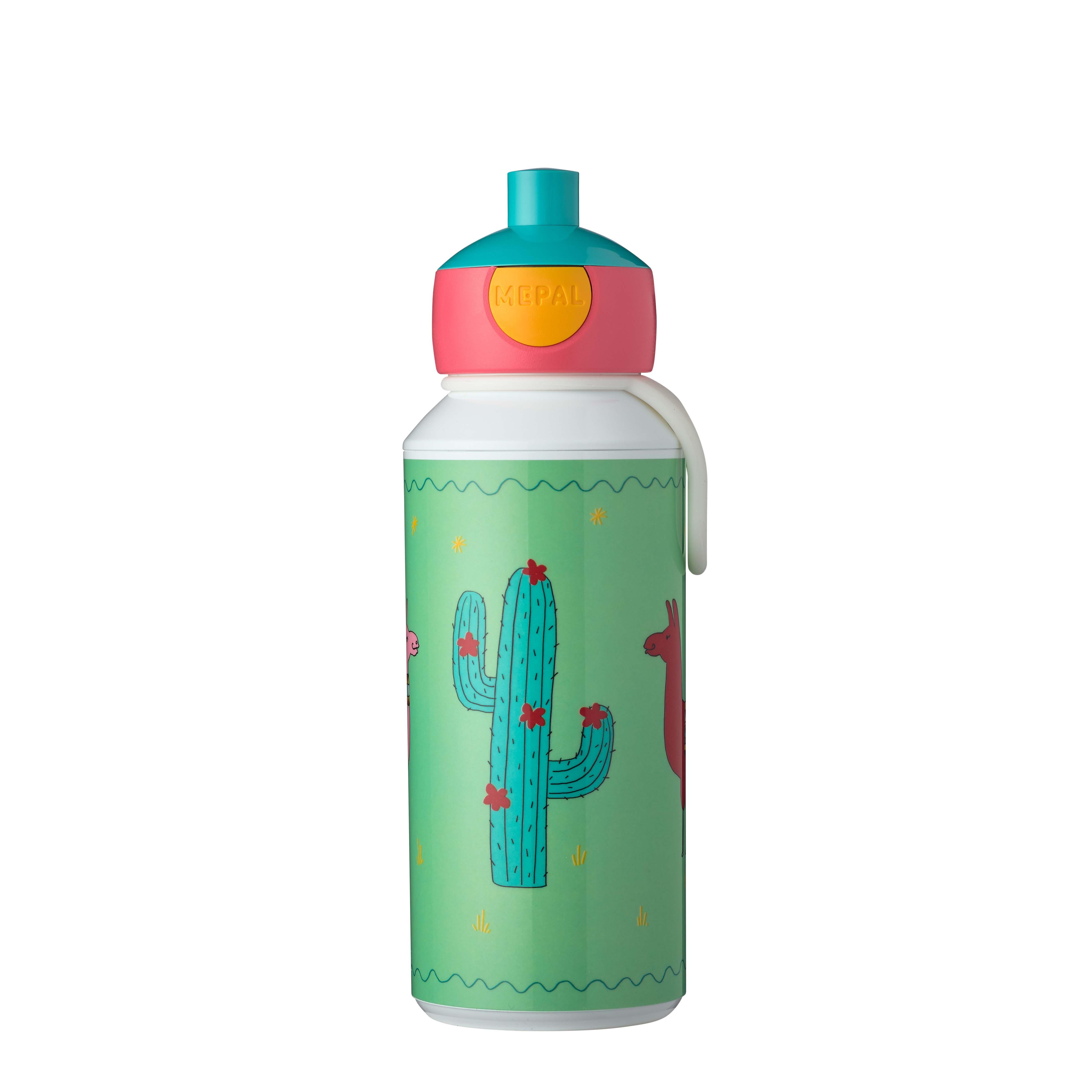 Afbeelding van Drinkfles Pop-up Lama 400 ML