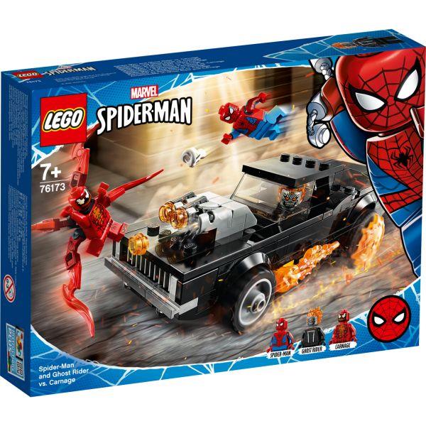 LEGO Marvel Spider-Man 76173 Spider-Man  En Ghostrider vs. Carnage