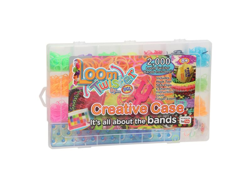 Loom Twister Bands Creative Case 2000+500