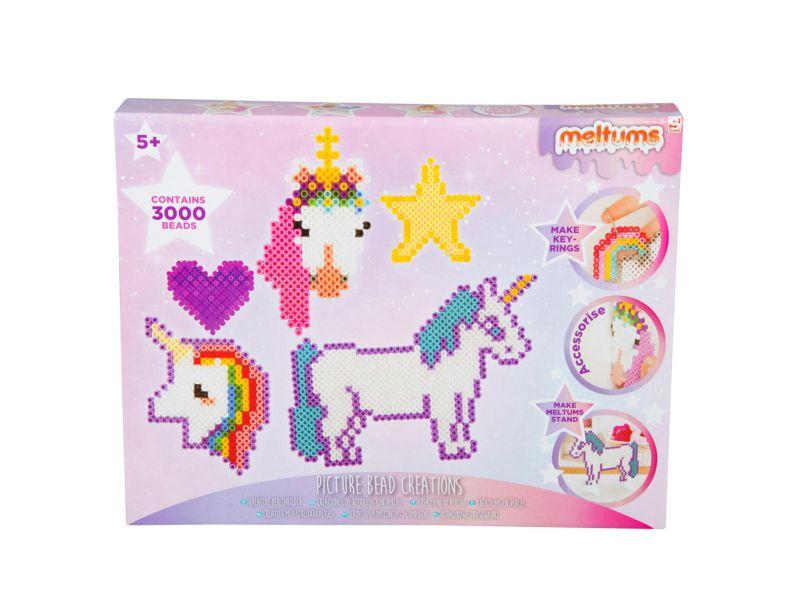 Strijk kralen Unicorn 3000 Delig