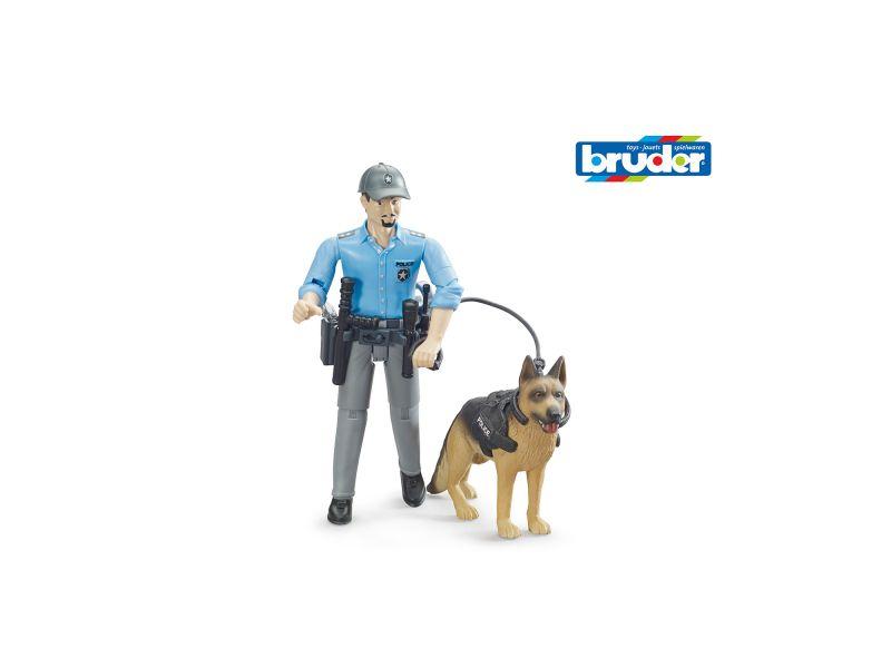Figuur Politie Met Hond B World