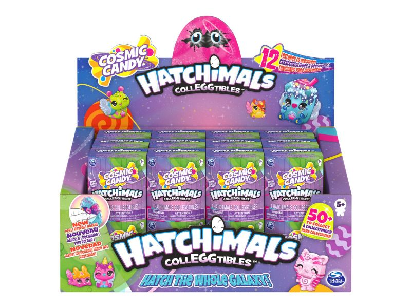 Hatchimals Colleggtibles S8 Cosmic Candy 1 Pack Assorti