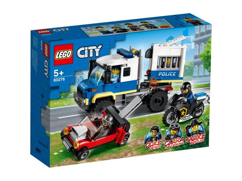 LEGO City 60276 Politie Gevangenentransport