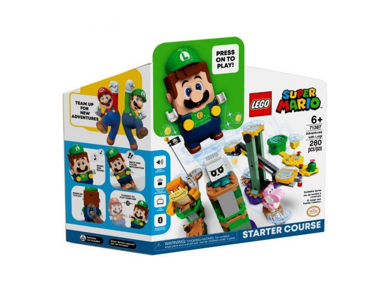 LEGO Super Mario 71387 Avonturen Met Luigi Starterset