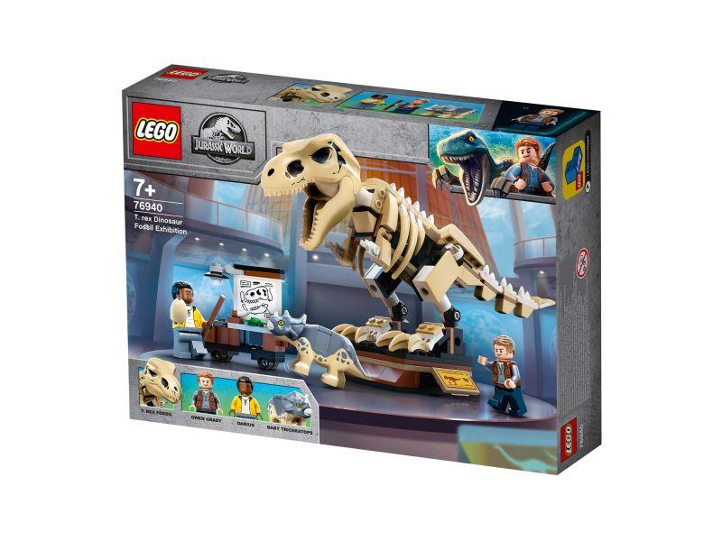 LEGO Jurassic World 76940 Tentoonstelling Dinosaurusfossiel van T. Rex