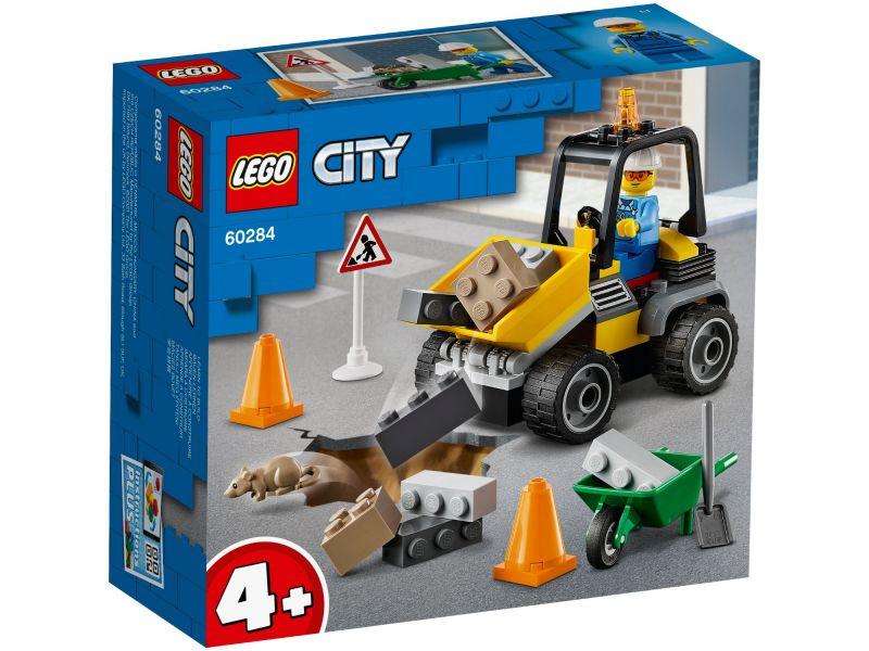 LEGO City 60284 Roadwork Truck
