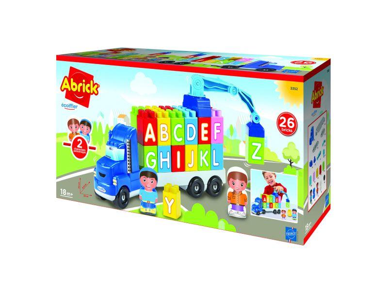 Abrick Vrachtwagen Met Blokken ABC