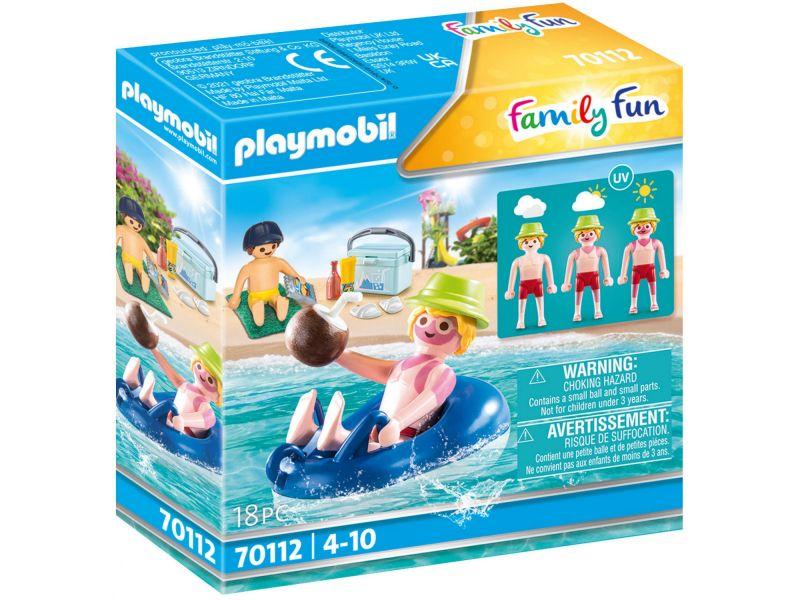 Playmobil 70112 Badgast Met Zwembanden