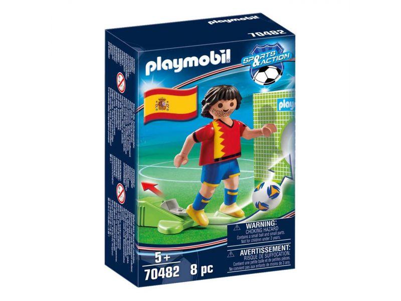 Playmobil 70482 Nationale Voetbalspeler Spanje