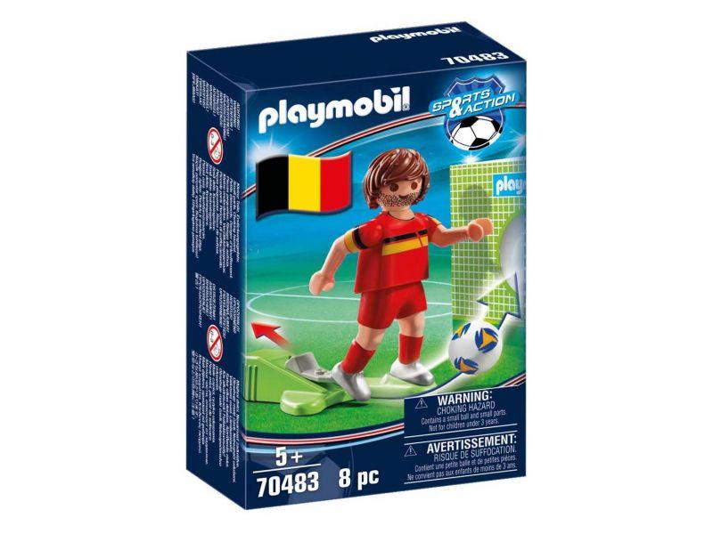 Playmobil 70483 Nationale Voetbalspeler België