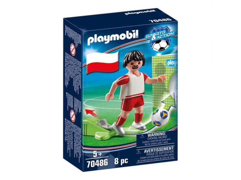 Playmobil 70486 Nationale Voetbalspeler Polen