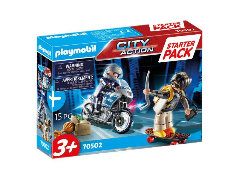 Playmobil 70502 Starterpack Politie Uitbreidings set