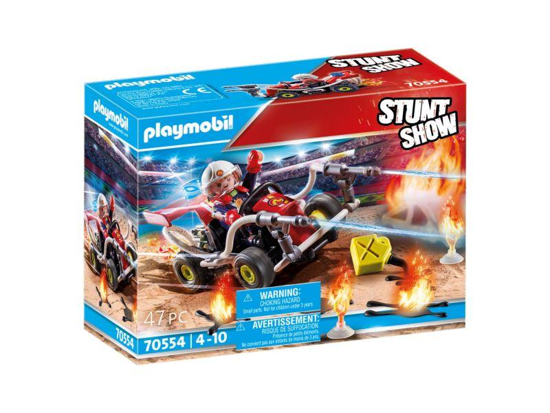 Playmobil 70554 Stuntshow Brandweerkart