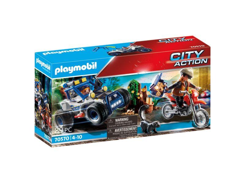 Playmobil 70570 Politie Suv: Achtervolging Van  De Schattenrovers